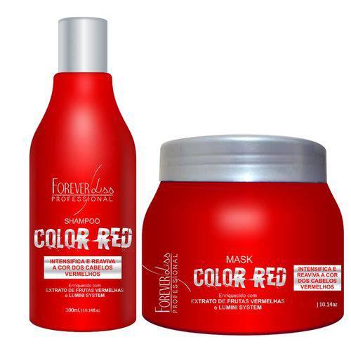 Forever Liss Color Red Kit Manutenção Cabelos Vermelhos