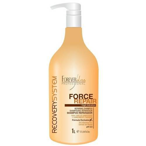 Forever Liss Force Repair Shampoo Rep 1 Lt