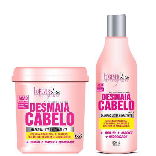 Forever Liss Kit Desmaia Cabelo (shampoo 500ml + Máscara 950g)