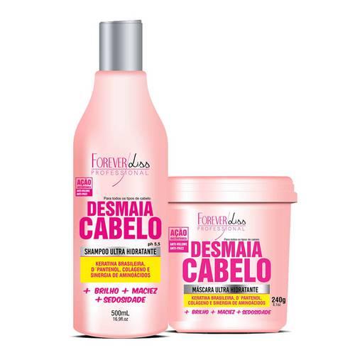 Forever Liss - Kit Desmaia Cabelo Shampoo e Máscara