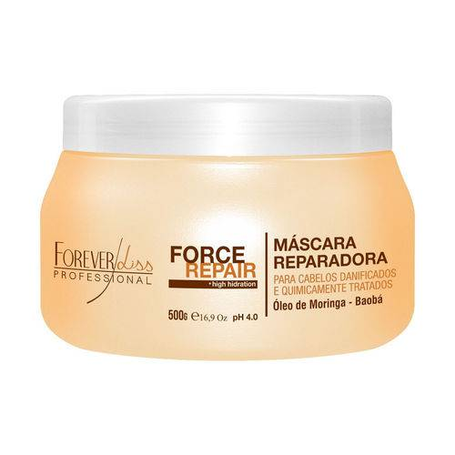 Forever Liss Máscara Force Repair - 500g