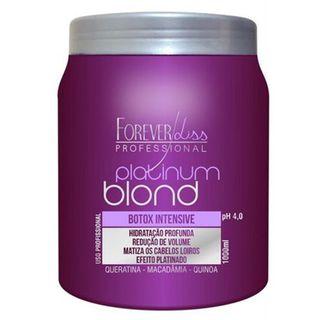 Forever Liss Platinum Blond Botox Intensive - Tratamento Matizador 1Kg
