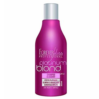 Forever Liss Platinum Blond - Shampoo Matizador 300ml