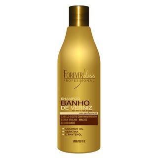 Forever Liss Shampoo Extra Brilho Banho de Verniz - Shampoo 500ml
