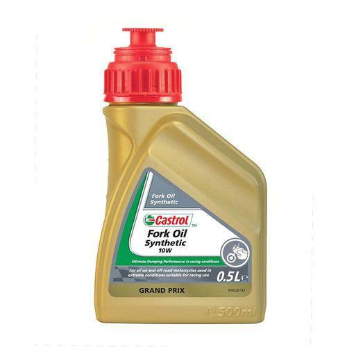 Fork Oil Castrol Sintético para Motos - 10w