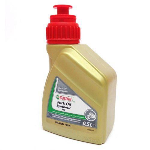 Fork Oil Castrol Sintético para Motos - 5w