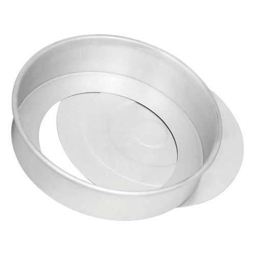 Forma de Alumínio Redonda com Fundo Removível Nigro