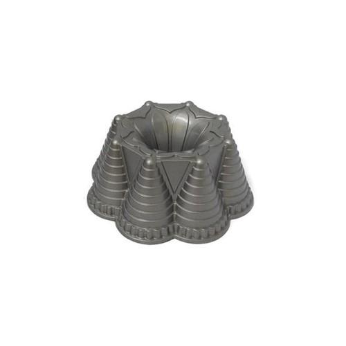 Forma de Bolo Alumínio Fundido Namorata 21X8 Cm Basic Kitchen