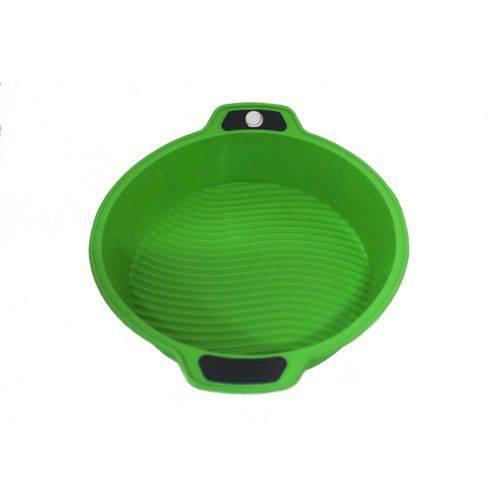 Forma Redonda em Silicone 63828 29x25x6cm Verde Basic Kitchen