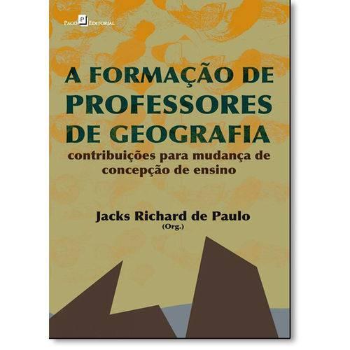 Formação de Professores de Geografia, a