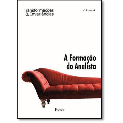 Formação do Analista, a - Vol.4