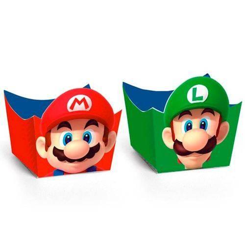 Forminha Super Mario C/ 24 Unidades
