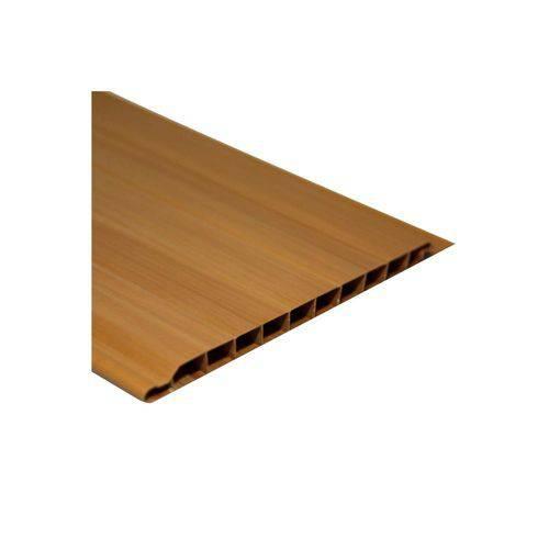Forro em Pvc Frisado 10x400cm Cerejeira