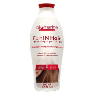 Fort In Hair Biomarine - Shampoo Antiqueda Energizante 200ml