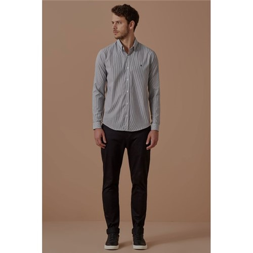 Foxton | Camisa Ml Urca Preto - P