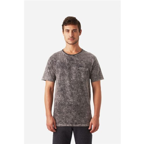 Foxton | T Shirt Surf Mar Preto - P