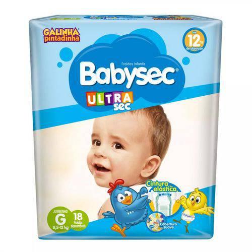 Fralda Babysec Ultra Sec G 16 Unidades