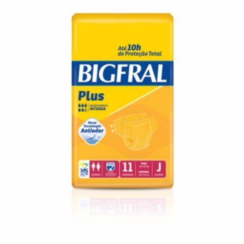 Fralda Bigfral Plus J 11 Unidades