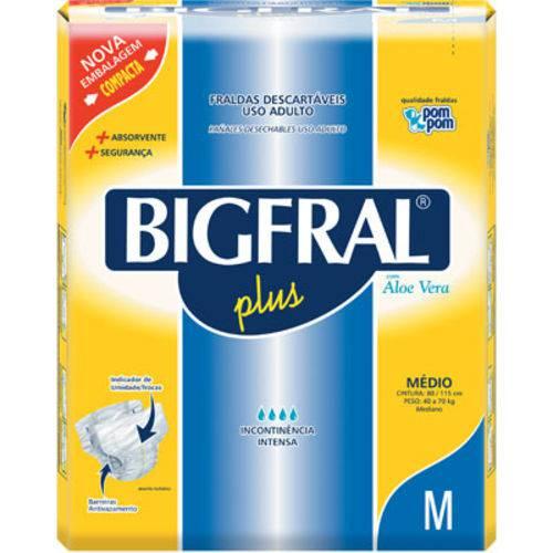 Fralda Bigfral Plus Media C/9 Unidades