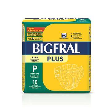 Fralda Bigfral Plus P 10 Unidades