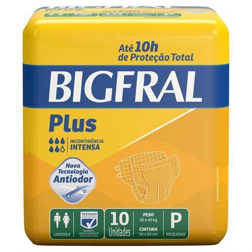 Fralda Bigfral Plus Pequena com 10 Unidades