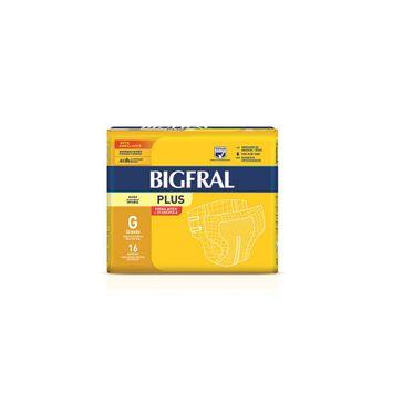 Fralda Bigfral Plus Prática G 16 Unidades