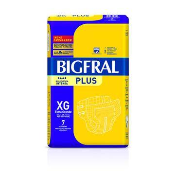 Fralda Bigfral Plus XG 7 Unidades