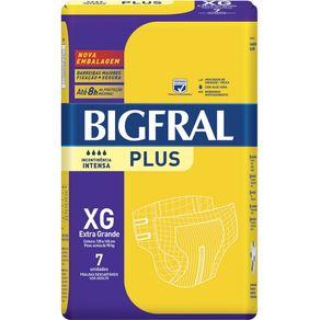 Fralda Descartável Adulto Big Fral XG com 7 Und (Cod. 12346)
