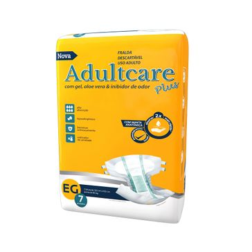 Fralda Geriátrica Adultcare EG 7 Unidades