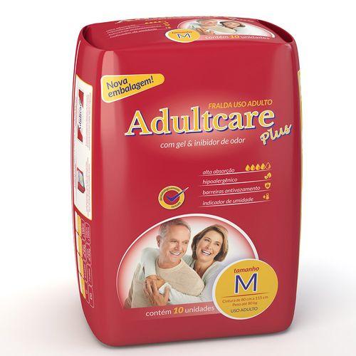 Fralda Geriátrica Adultcare M 10 Unidades