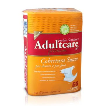 Fralda Geriátrica Adultcare Premium EG 7 Unidades