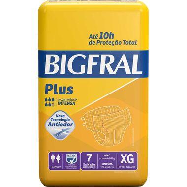 Fralda Geriátrica Bigfral Plus EG 7 Un.