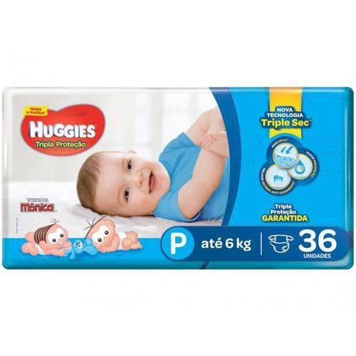 Fralda Huggies Monica Huggies P 36 Un