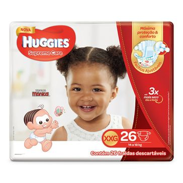 Fralda HUGGIES Supreme Care XXG - 26 Fraldas