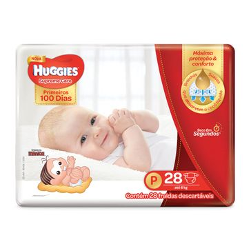 Fralda HUGGIES Supreme Care P - 28 Fraldas