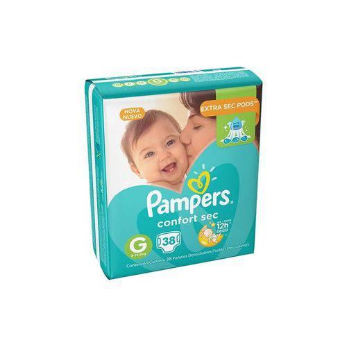 Fralda Pampers Comfort Sec G