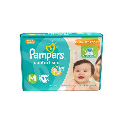 Fralda Pampers Comfort Sec M