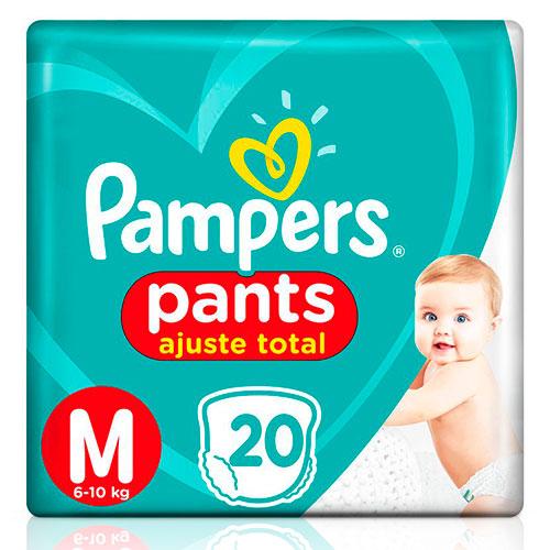 Fralda Pampers Confort Sec Pants Pacotão M 20 Unidades