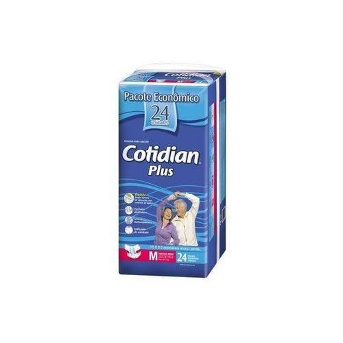 Fralda Plus Mega M com 24 - Cotidian