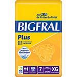 Fraldas Descartáveis Bigfral Plus Incontinência Intensa XG - 7 Unidades