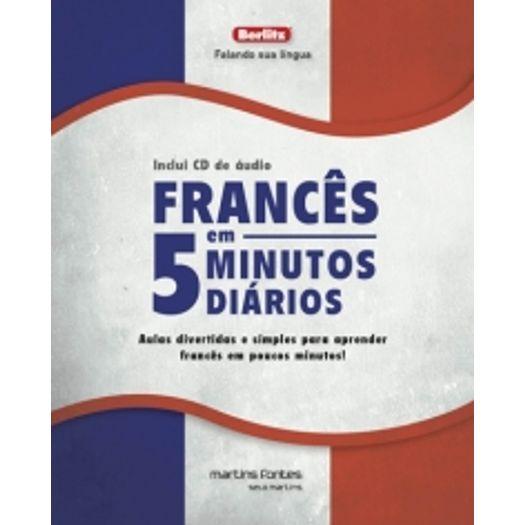 Frances em 5 Minutos Diarios - Martins