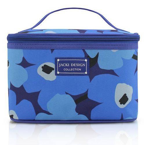 Frasqueira Necessaire Papoula Azul - Jacki Design