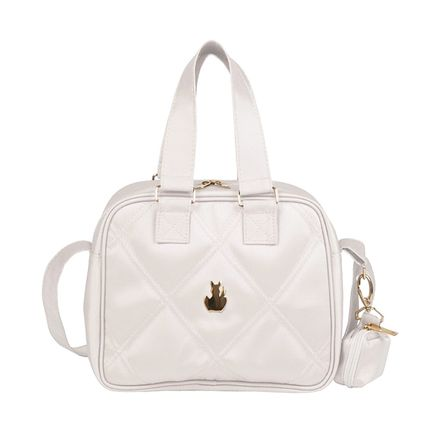 Frasqueira para Bebe Luana Classic Off White - Masterbag