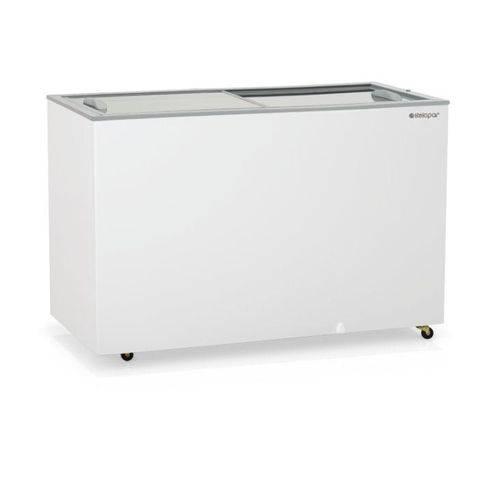Freezer Horizontal 410l Vidro Deslizante 110v - Gelopar