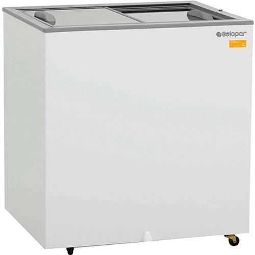 Freezer Horizontal Expositor Gelopar Dupla Ação GHDE-220 219l Branco
