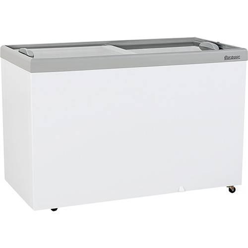 Freezer Horizontal Expositor Gelopar Dupla Ação GHDE-410 411l Branco