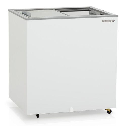 Freezer Horizontal Gelopar 180 Litros Dupla Ação Portas de Vidro GHDE-220 - 220V