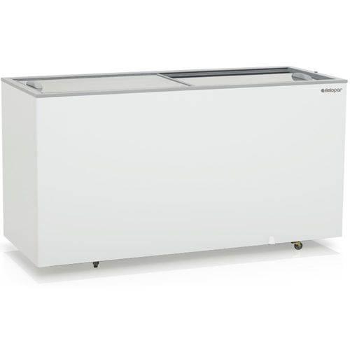 Freezer Horizontal Ghde-510 Dupla Ação 2 Tampas de Vidro Deslizantes - Gelopar