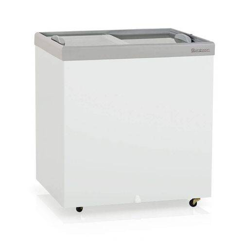 Freezer Horizontal Vidros Deslizantes 220L Profissional Gelopar Branco