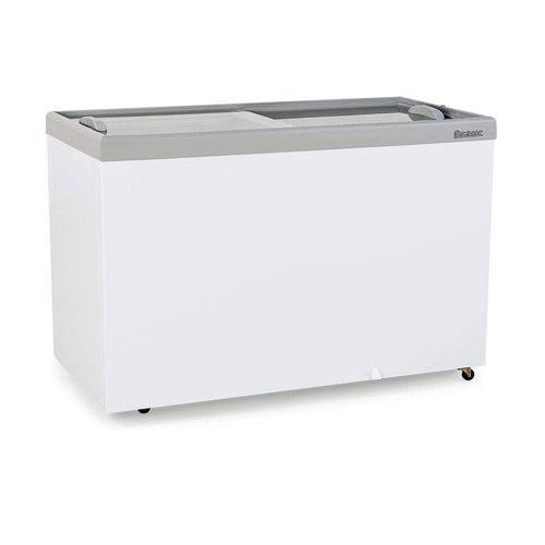 Freezer Horizontal Vidros Deslizantes 534L Profissional Gelopar Branco